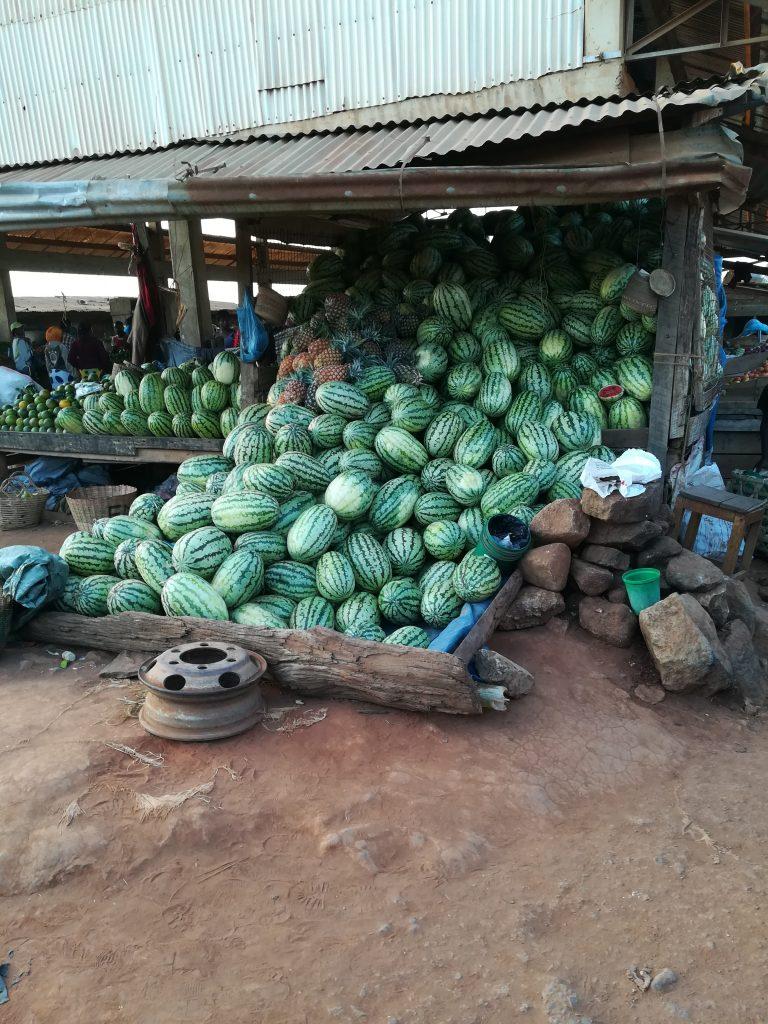 Melonenstand