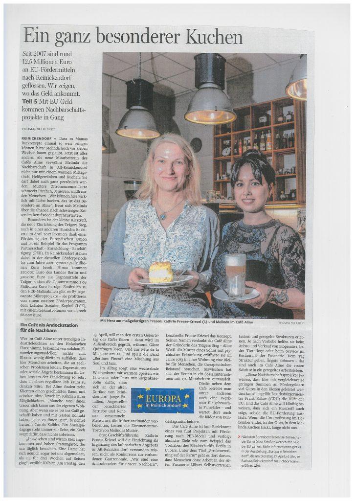 Berliner Morgenpost 31.03.2018